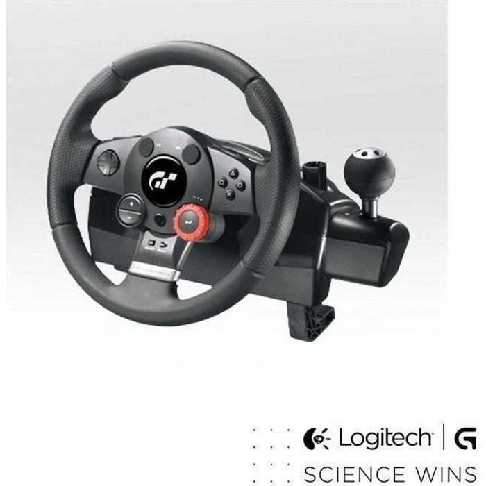 JOYSTICK Logitech volant de course Driving Force GT PC-PS3