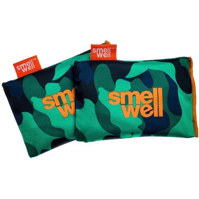 SmellWell Active - Camo Green - pochons désodorisants 3-en-1