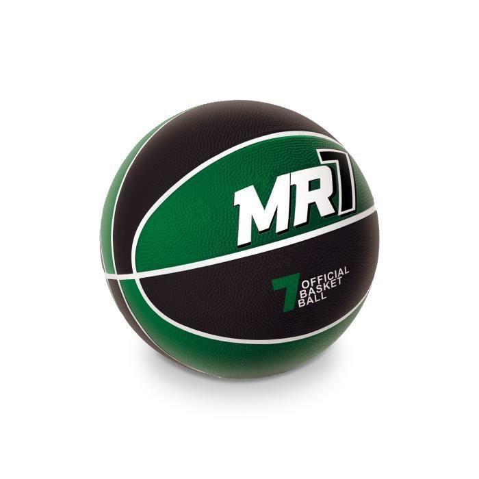 MONDO Ballon de Basket MR7 Noir et Vert