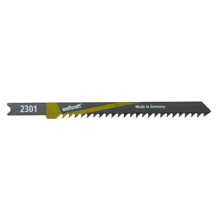 WOLFCRAFT Lot de 2 Lames de scie sabre B&D HCS - 7,5 cm