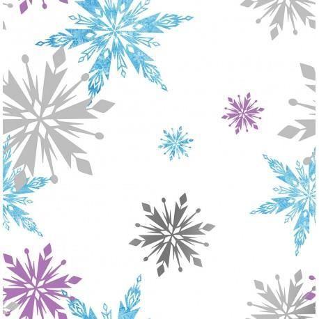 la reine des neiges papier peint - achat / vente la reine des
