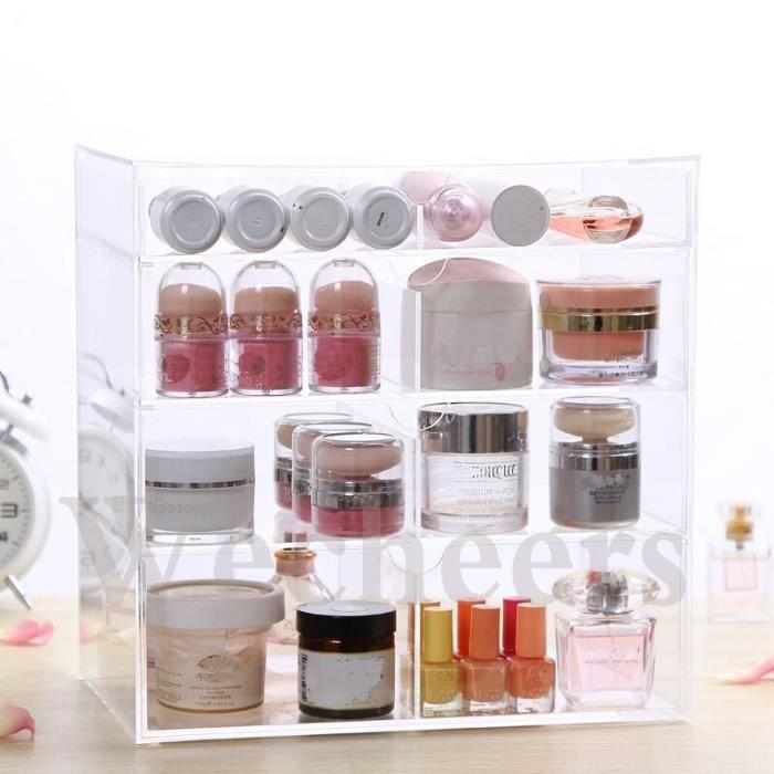 Acrylique Bureau Cosmtique Maquillage Support Rouge Lvres