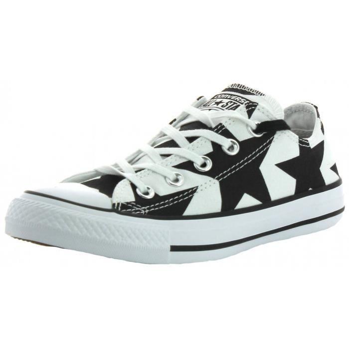 Femme Ox Converse Noir De Ctas Blanc Chaussures Sport OOXqT1w
