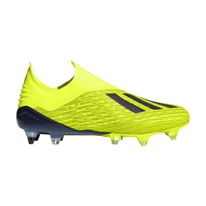 Jaune Football 18 Cdiscount X Cher Adidas Chaussures Sg Pas Prix zPqdXHxw