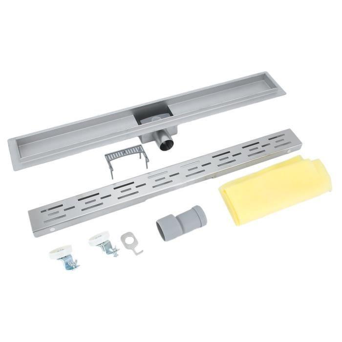Caniveau de douche /à litalienne 90 cm en inox 304 pour la douche /à litalienne
