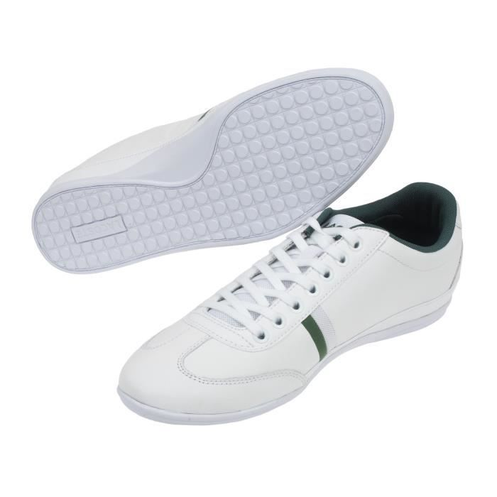Chaussures basses cuir ou synthétique Misano sport 116 1 white