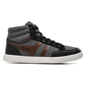 Pointure Patchwork Brown Vicinity Black 42 Gola Montant Chaussure Homme Baskets UAxvAF
