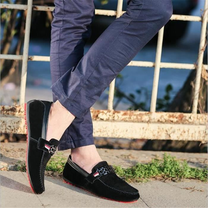 chaussures homme Confortable Antidérapant Moccasin Marque De Luxe Moccasin hommes Loafer Nouvelle Mode Grande Taille 45