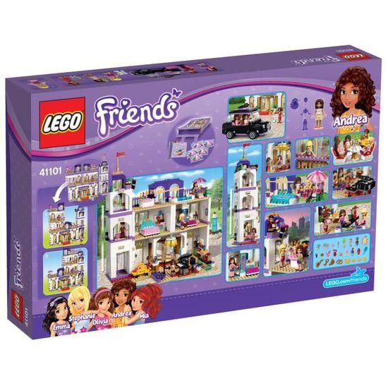 Lego Friends 41101 Le Grand Hôtel De Heartlake City Achat Vente