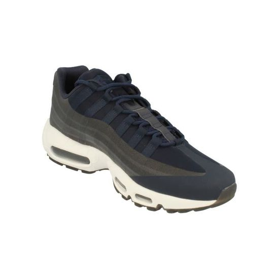 promo code 0c021 a46b0 NIKE Air Max 95 Chaussures Ns Gpx Big Logo Hommes INLGZ Taille-40 1-2 Blanc  Blanc - Achat   Vente basket - French Days dès le 26 avril ! Cdiscount