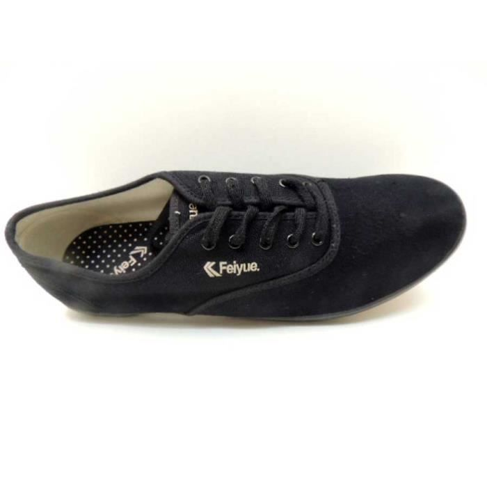 Chaussure Baskets Basse Feiyue Er Dang Jia Black Homme Pointure 43 wZMfqqchO
