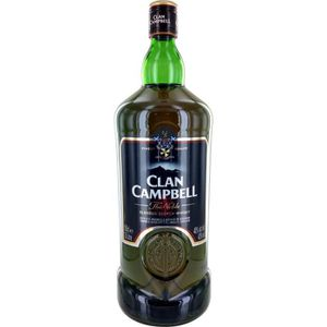 WHISKY BOURBON SCOTCH Clan Campbell The Noble (1,5L) 40°