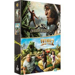 DVD DESSIN ANIMÉ DVD Coffret Jack et le chasseur de géants 3D + Voy
