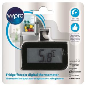 WPRO BDT102 Thermom?tre digital pour réfrigérateur et congélateur