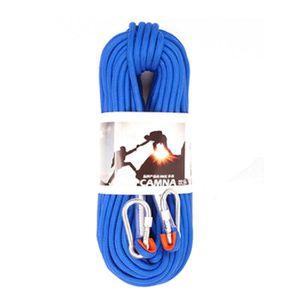 MATÉRIEL DE CORDE 9.5mm - 10M 12KN équipement de sécurité Corde de s
