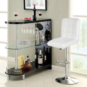 chaise de bar blanche achat vente pas cher. Black Bedroom Furniture Sets. Home Design Ideas