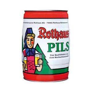 BIÈRE Fut de biere Rothaus Pils 5 L Parti encadré 5.1 vo