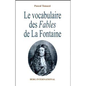 AUTRE LANGUE ÉTRANGÈRE Livre - le vocabulaire des Fables de La Fontaine