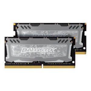 MÉMOIRE RAM BALLISTIX SPORT LT Gris Mémoire PC KIT - DDR4 - 8G