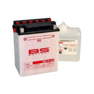 BATTERIE VÉHICULE Batterie BS BATTERY BB14-A2 conventionnelle livrée