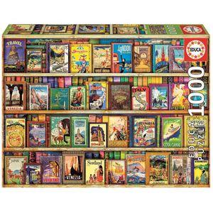 PUZZLE Puzzle 1000p VOYAGE AUTOUR DU MONDE