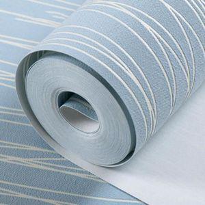 papier peint a rayures achat vente pas cher. Black Bedroom Furniture Sets. Home Design Ideas