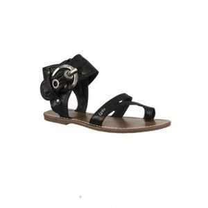 SANDALE - NU-PIEDS sandales - nu pieds lpb pensee velours noir dd7d0957edfa