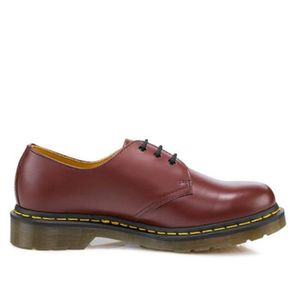 DERBY Dr. Martens 1461 Pw Greasy, Mocassins unisexe-adul