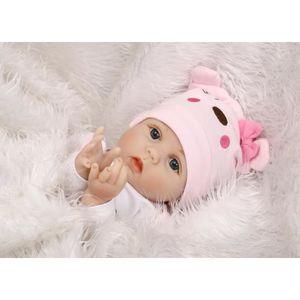 POUPÉE 55 cm Doux Corps Silicone Reborn Bébé Poupée Jouet