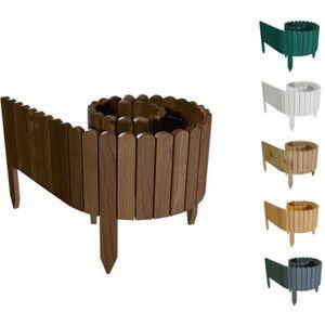 Bordure de jardin bois - Achat / Vente pas cher