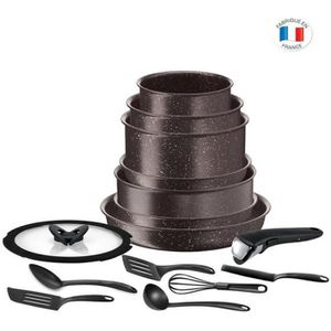 BATTERIE DE CUISINE TEFAL L6789102 Ingeio extrême Batterie de cuisine