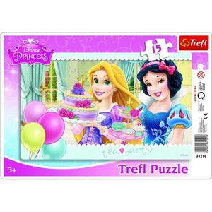 PUZZLE TREFL Puzzle Cadre Disney Princess - 15 Pièces