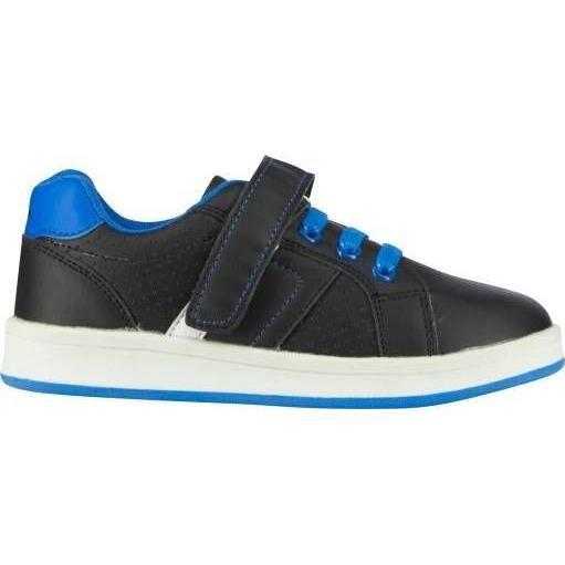 UP2GLIDE Chaussures Multisport Ange CD G - Enfant Garçon- Noir et bleu - Fermeture par lacets et velcroCHAUSSURES MULTISPORT
