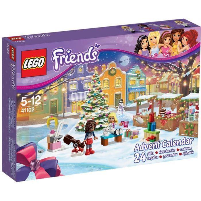 lego friends 41102 le calendrier de l avent achat vente assemblage construction cdiscount. Black Bedroom Furniture Sets. Home Design Ideas