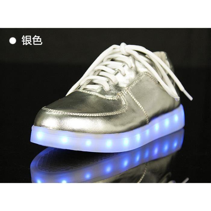 Nouveau LED 7 couleurs lumières clignotant rech...