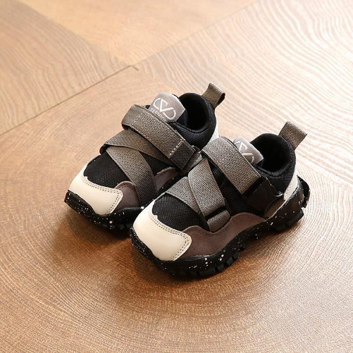 Enfants Chaussures baskets Garçon filles Bébé Chaussures de sport Stickers magiques