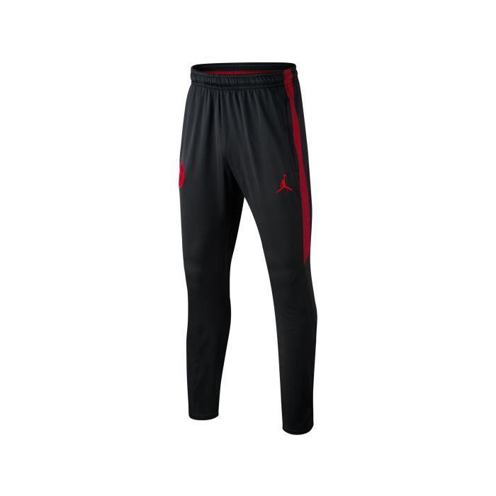 7a8790dd6621 Pantalon Entraînement Jordan x PSG Squad Noir Junior - Prix pas cher ...