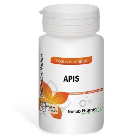 DÉFENSE IMMUNITAIRE  Apis NETLAB PHARMA - Pilulier 60 gélules - Complém