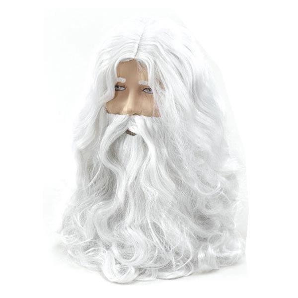 Décoration Père Noël Barbe Et Perruque