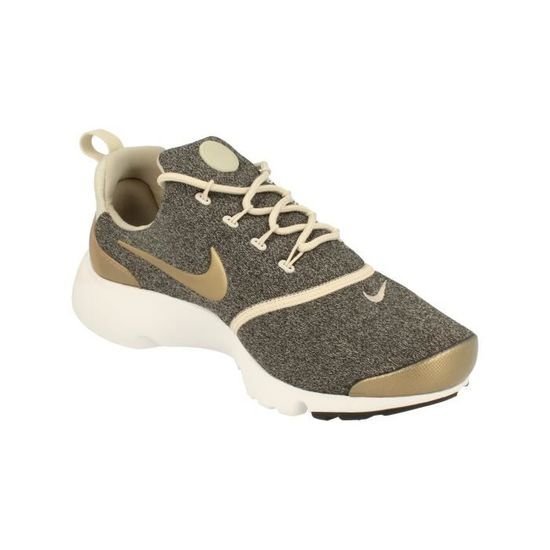best sneakers 5e942 565d4 Nike Femme Presto Fly Se Femme Running Trainers 910570 Sneakers Chaussures  101 Gris Gris - Achat   Vente basket - Cdiscount
