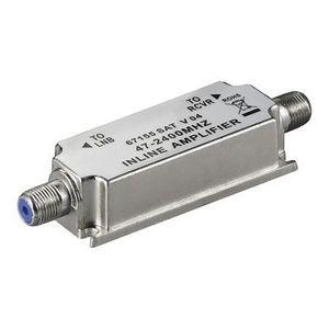 REPETEUR DE SIGNAL Alpexe® Amplificateur SAT-Inline  47-2400MHz - 20d