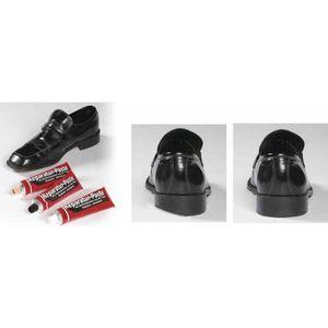 CIRAGE ET ENTRETIEN Pâte de réparation pour chaussures Noire