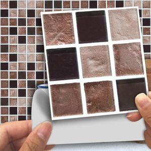 Stickers mosaique salle de bain adhesifs - Achat / Vente pas ...