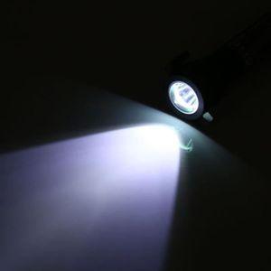 LAMPE DE POCHE LAMPE DE POCHE Lampe de poche marteau de sécurité