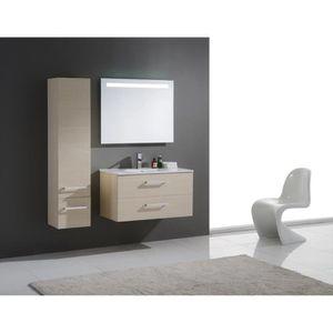 Meuble salle de bain en pin Achat Vente pas cher
