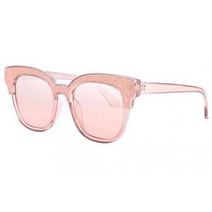 d3bb201b3c LUNETTES DE SOLEIL Lunettes de soleil strass rose femme Glamy - Rose