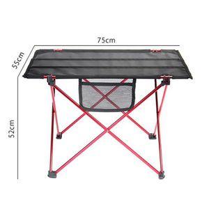 TABLE DE CAMPING Table de Camping Pliable Portable Exterieur Alumin
