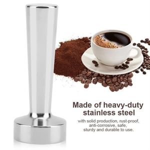 MACHINE À CAFÉ Marteau de bourrage d'espresso solide en acier ino