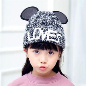 BONNET - CAGOULE BaronHong Enfant bonnet tricoté plus de velours br ... 22da9cdfcf4