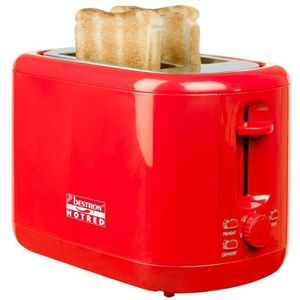 GRILLE-PAIN - TOASTER BESTRON ATS300HR Grille-pain - Rouge